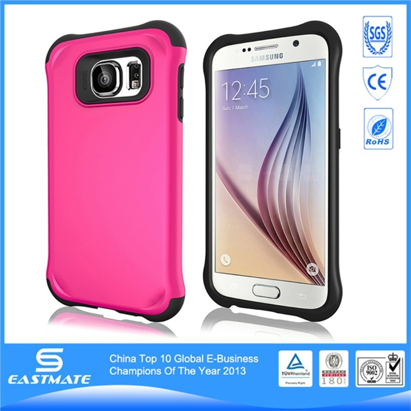strong protect shock proof eva foam handle stand case for samsung galaxy s6