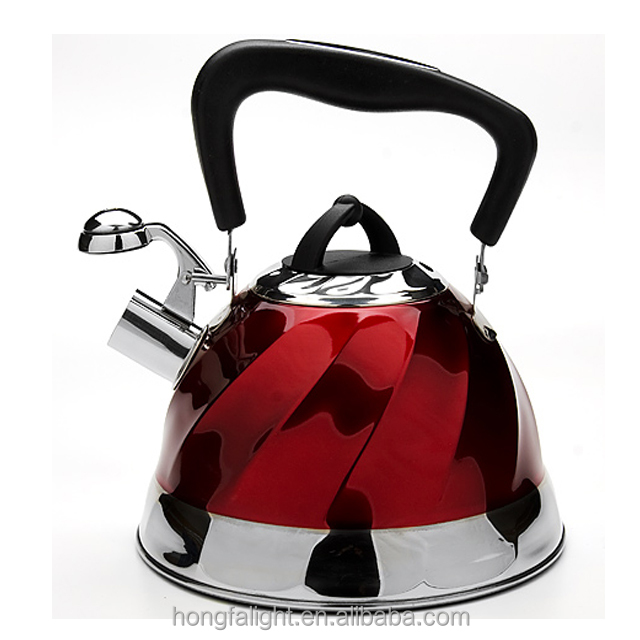 wholsale stainless steel double tea pot and kettle set