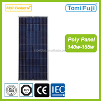 Hot sale 140w to 155w Poly solar panel made in China low price