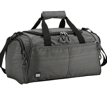 Polyester custom durable large duffel sports bag men