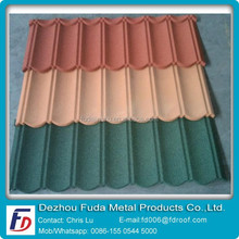 Simple Installation Sun Resistance Metal Roof Tile
