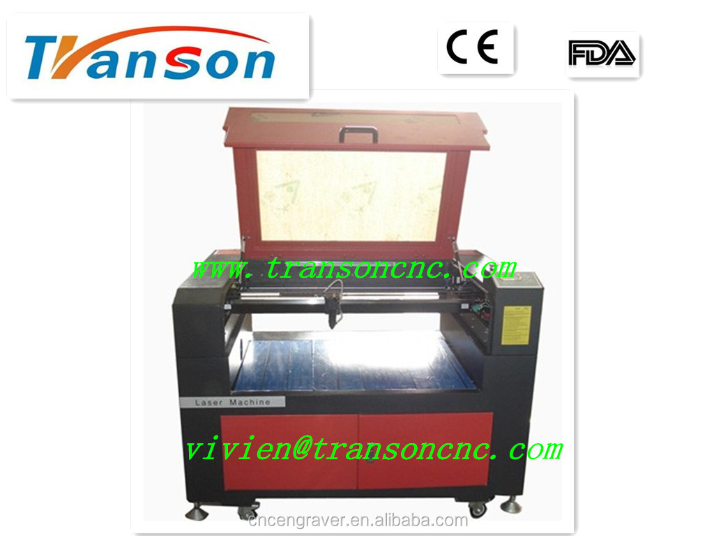 Good quality and low cost marble laser cutter 600*900mm for non-metal material