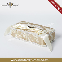 Fabrics Rectangle Lace Floral Napkins Tissue Box Paper Holder cute tissue paper box