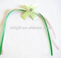 elegant and mini ribbon bows/ pre made ribbon bows for gift wrapping