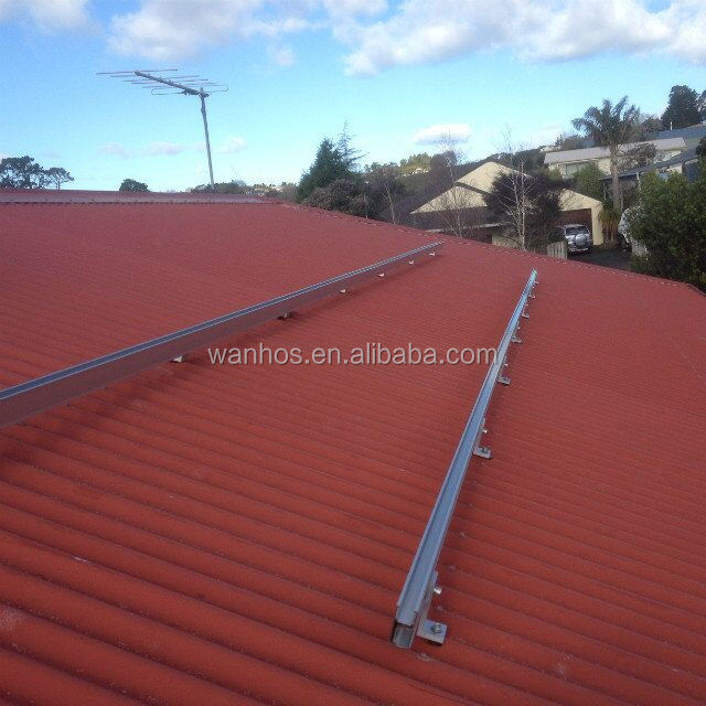 solar system 500kw with solar roof mounting bracket