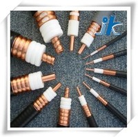 Professional Factory 50ohm helical corrugated copper tube coaxial feeder cable 5/8