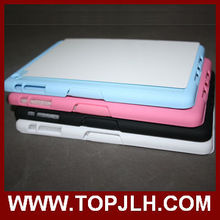 Oil spray Soft Touch sublimation coated Plastic Case for iPad mini