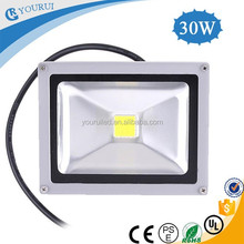 30 watt dc 12v dimmable dmx rgb outdoor ip65 solar led flood light