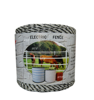 Polywire as cheap goat farming fence