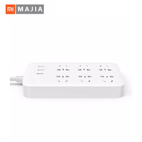Original Xiaomi Smart Power Strip 2.1A Fast Charging 3 USB Extension Socket Plug 6 Standard Socket Adapter