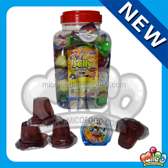 12g new assoted fruit jelly