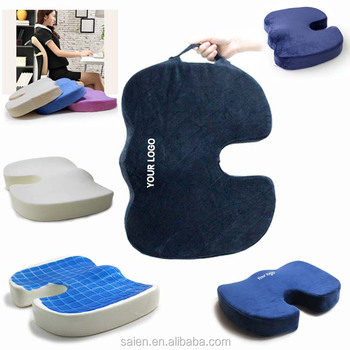 coccyx orthopedic car office chair memory foam slow rebound seat cushion
