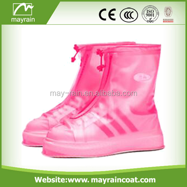 Outdoor non-slip rubber shoe covers rain boots shoe cover waterproof