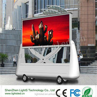 Energy saving full color p8 HD LED video display/tv mobile LED for truck/lorry/advertising
