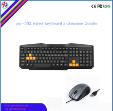 best cheap mechanical USB PC wired keyboard and mouse Combo