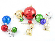 Best selling Christmas ball for christmas Custom size and design glass hanging christmas ball