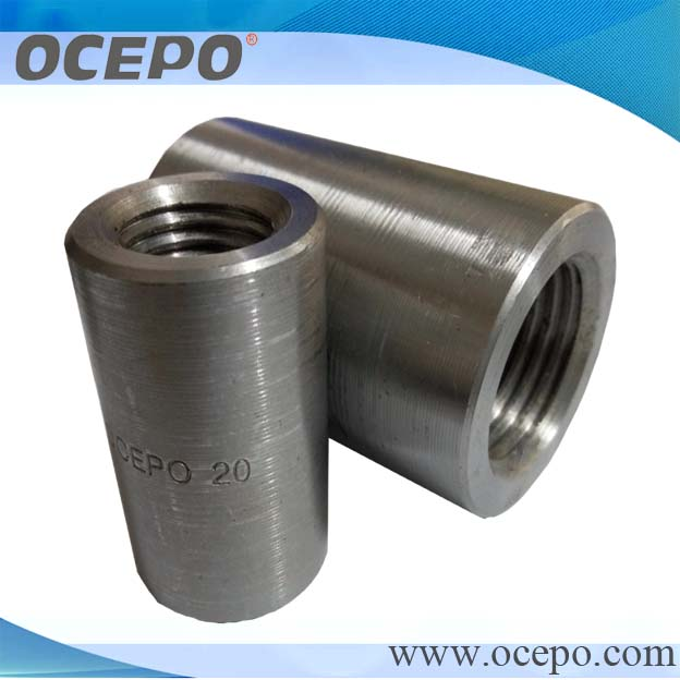 Building Material Rebar Parallel Thread Mechanical Coupler / Rebar Coupling with Good Quanlity Low Price (Factory)