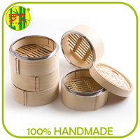 Fast Delivery Steamer Basket Kitchen Accessories Bamboo Cookware