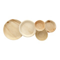 Wholesale Biodegradable Compostable Wooden Disposable Plates Food Grade