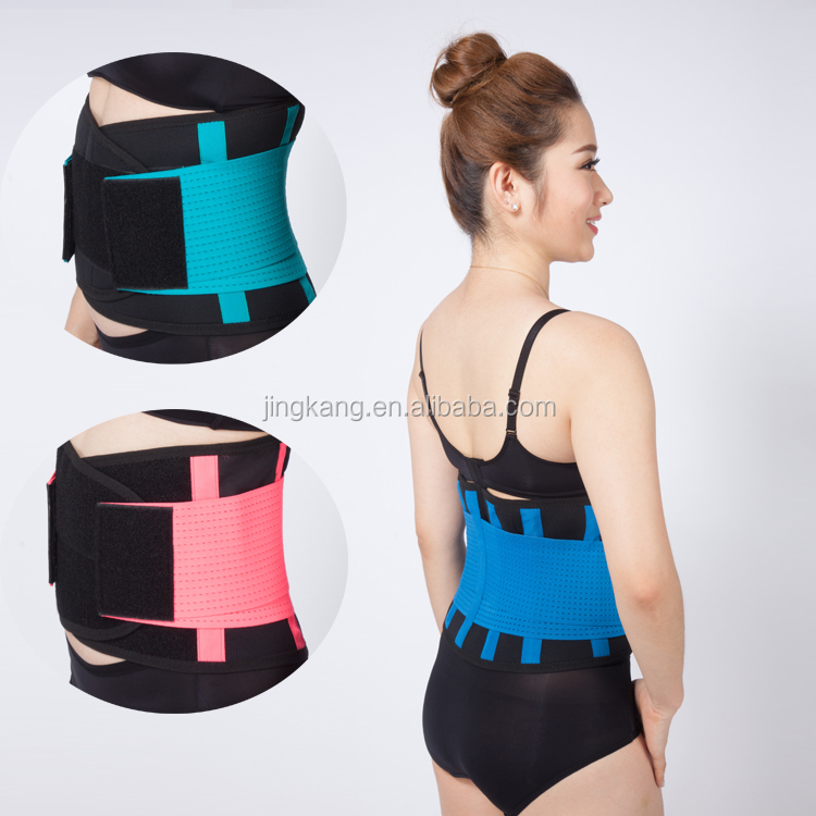 Alibaba china Seamless Belt lose belly fat back support waist trimmer with elastic strap
