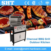 Factory supply wholesale outdoor charcoal barbecue grill designs with price