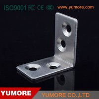 Small stainless steel l shape bracket for outdoor lighting