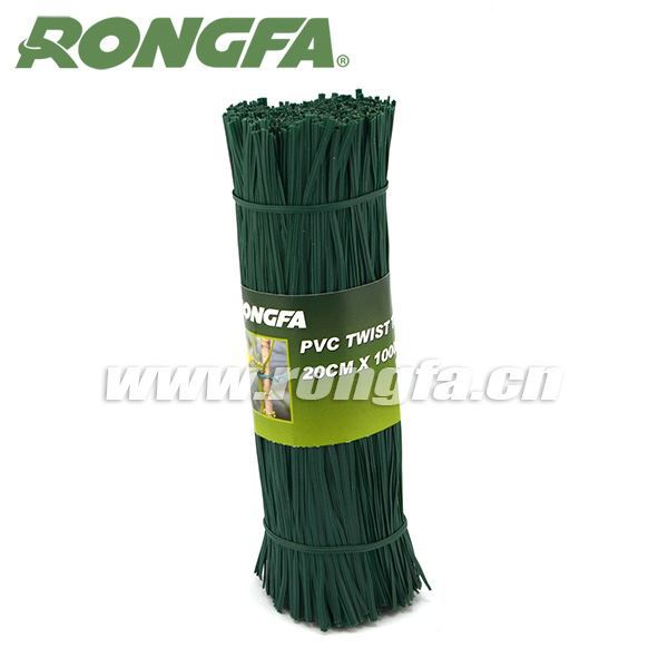10cm PVC Plastic Wire twist tie for packaging and garden