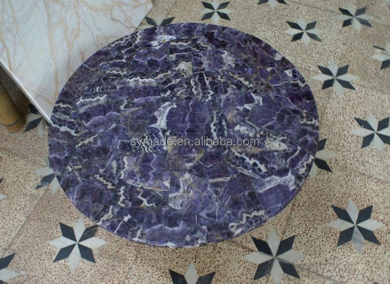 Hot selling Amethyst for sale backlit marble angel for counter top wall and flooring