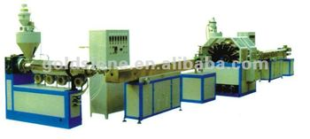 PVC fiber soft hose production line