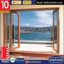 Interior aluminum cladded with wood casement Door comply with Australian & New Zealand standards