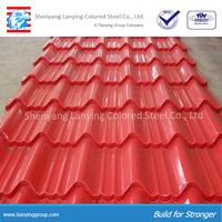 Best sale corrugated color roof sheet with good price