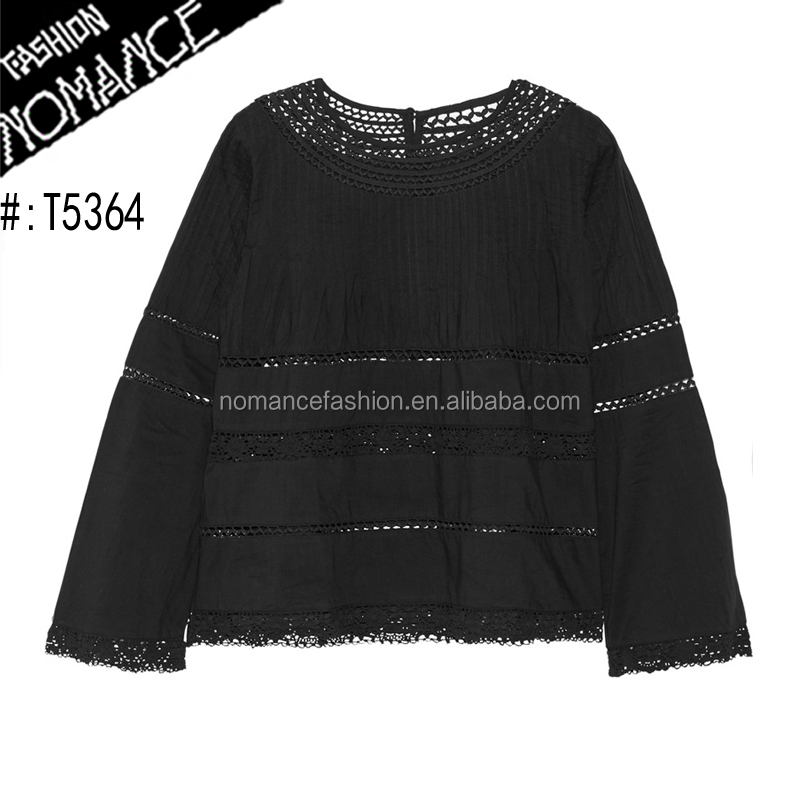 different style of blouses tops back neck design