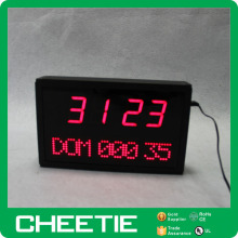 Electronic LED Portable World Digital Desktop Calendar Timer Clock