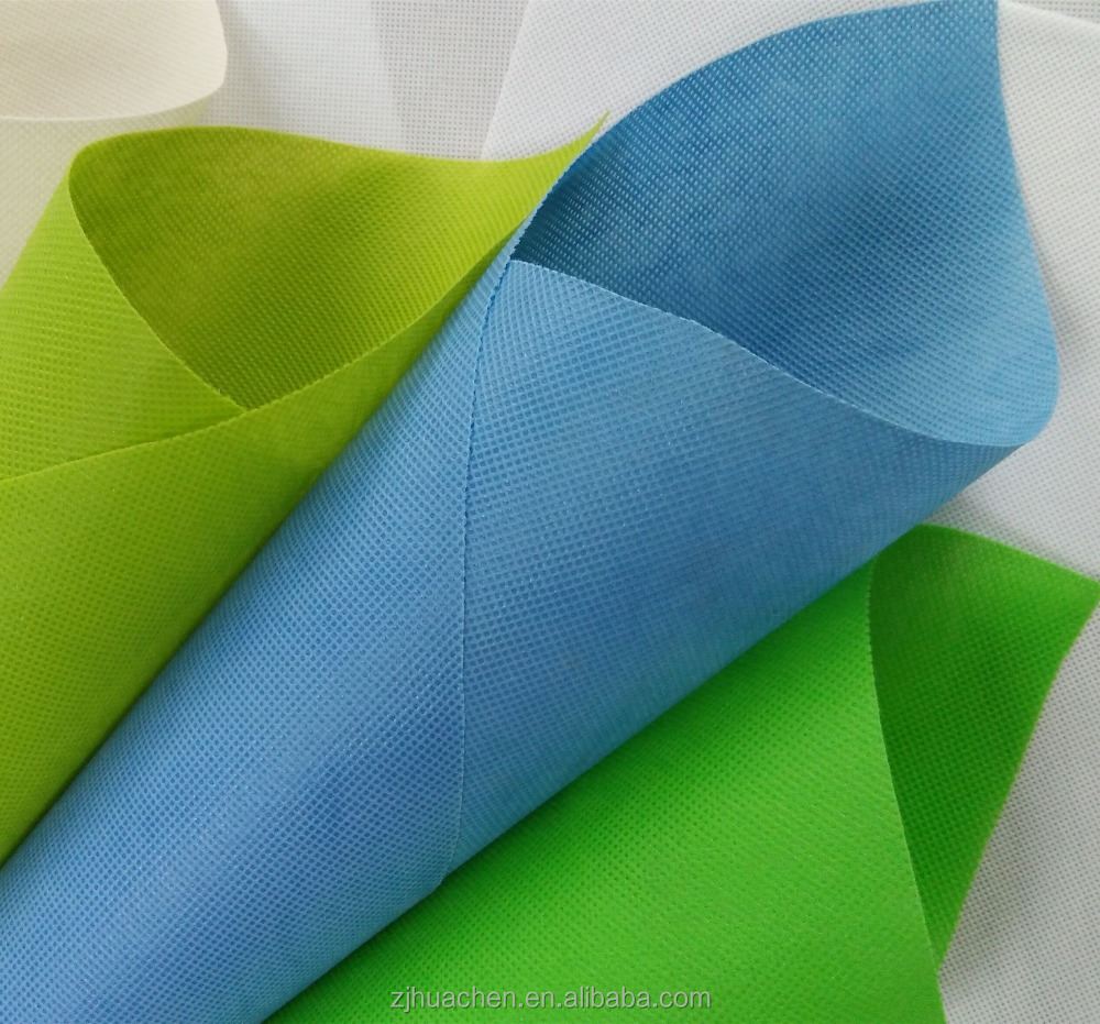 Polypropylene Raw Material Price Factory Produce PP Nonwoven Technics Cloth