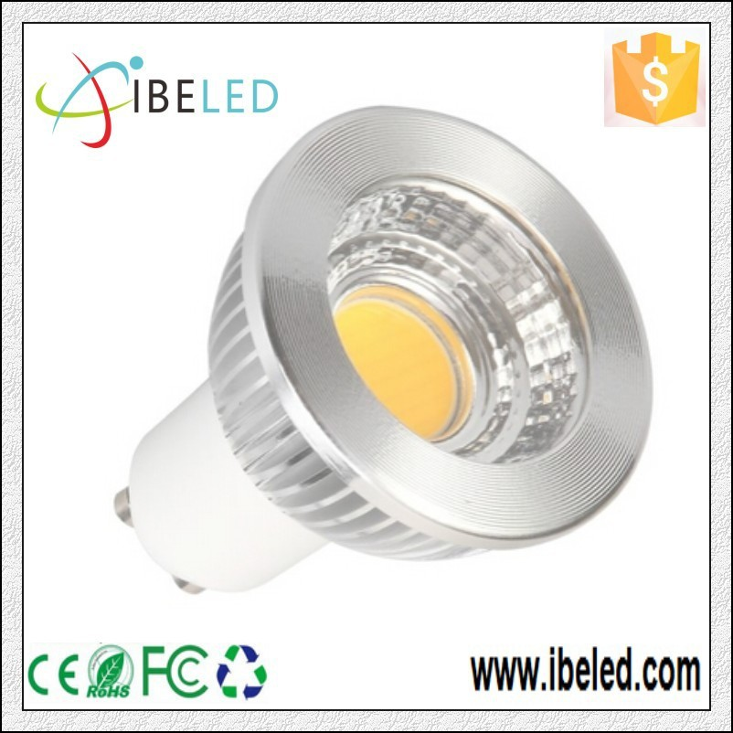 Dimmable 6w gu10 cob led spotlight 5w led spot lighting spot led