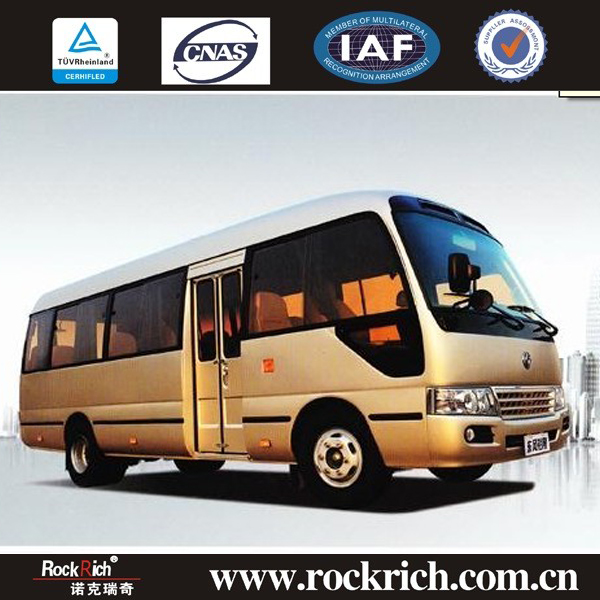 Best selling 7m new toyota coaster bus for sale with 22 seats
