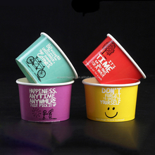 12 oz custom disposable Paper Frozen Dessert Supplies Ice Cream Cups Yogurt Bowls with Lids,ice cream packaging cup