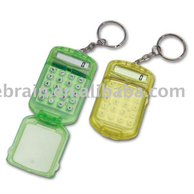 Mini Calculator with Keyring