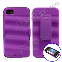 New Arrival 180 Degree Rotation Case For Blackberry Z10 Belt Clip Case With Kickstand