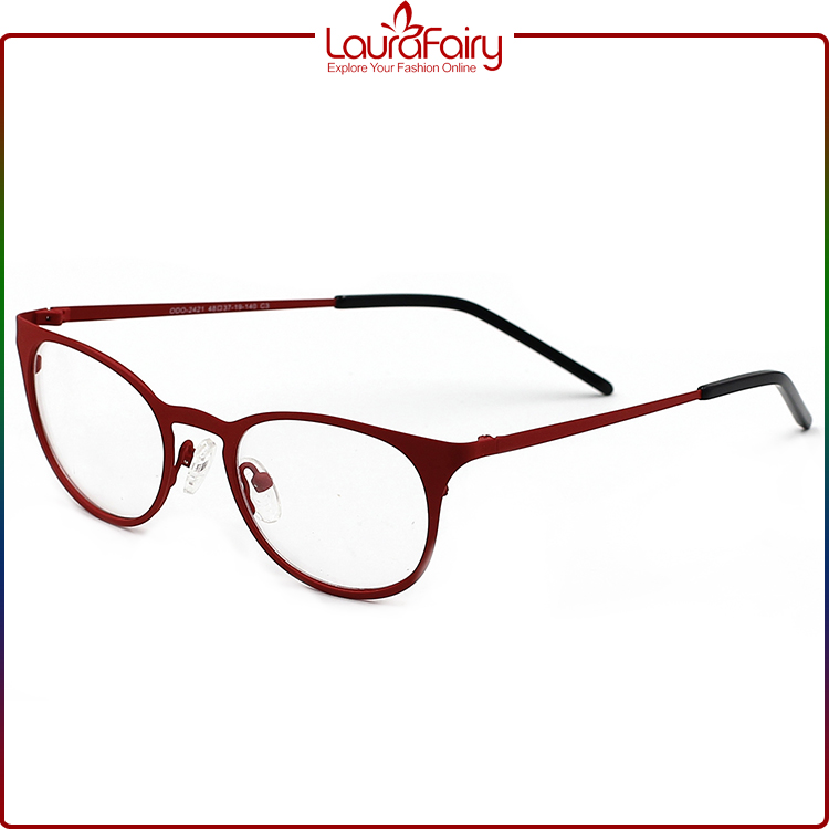 Eyeglass Frames Temple Pieces : Laura Fairy Fashion Red Purple Blue Changeable Temple ...