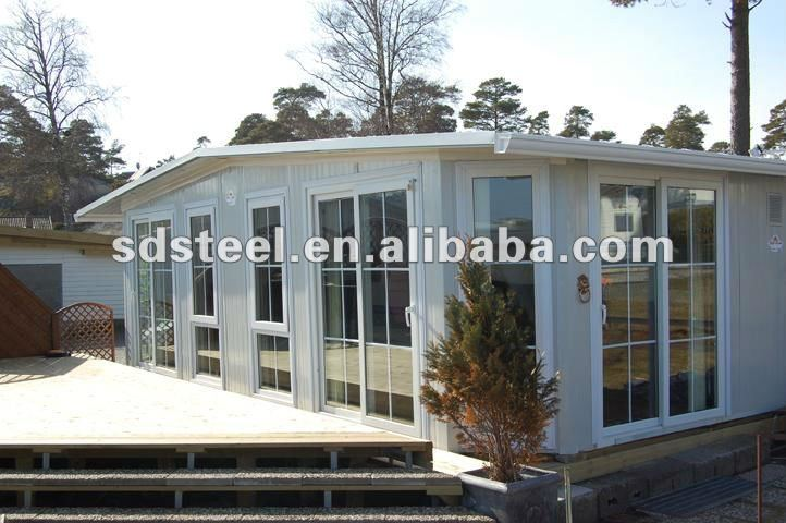 ISO&CE steel prefabricated homes