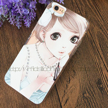 Material custom 3d animal sex girl mobile phone case