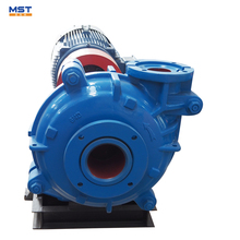 Centrifugal wear resistant filter press feed slurry pump