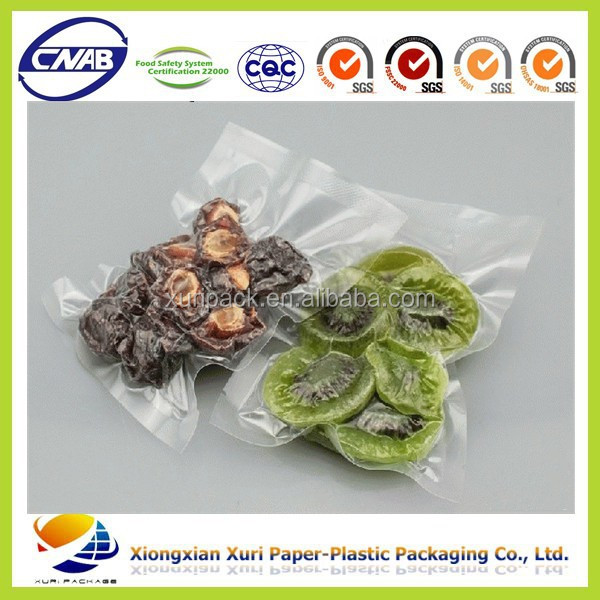 High temperature retort pouch food vacuum bag