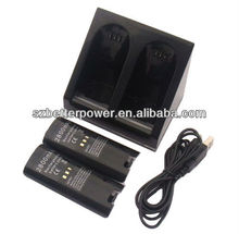 For Wii battery charger with blue light