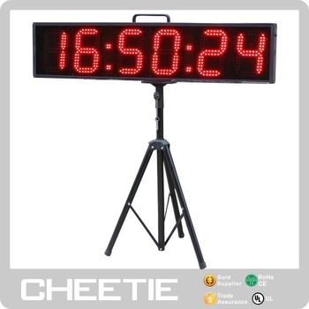Waterproof 6 Inch Double Side Display Large Event Sport Watch Outdoor Countdown Timer