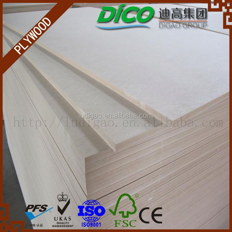 Linyi Factory China Low Price 5mm MDF For Wood Bed Designs