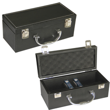 High Quality Pu Leather Aluminum Frame Tool Case Sponge interior