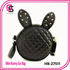 2014 fashion cute korean young lady plaid small bag