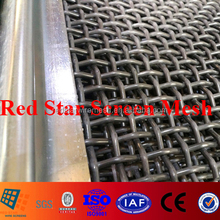 High Performance Woven Wire Mesh Screen in screening gravel